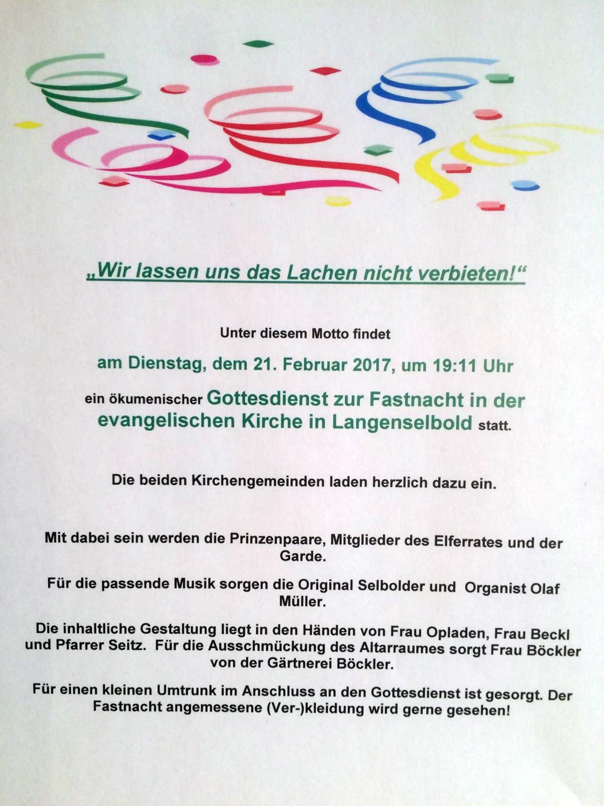 katholische pfarrgemeinde maria königin, langenselbold - aktuelles, Einladung